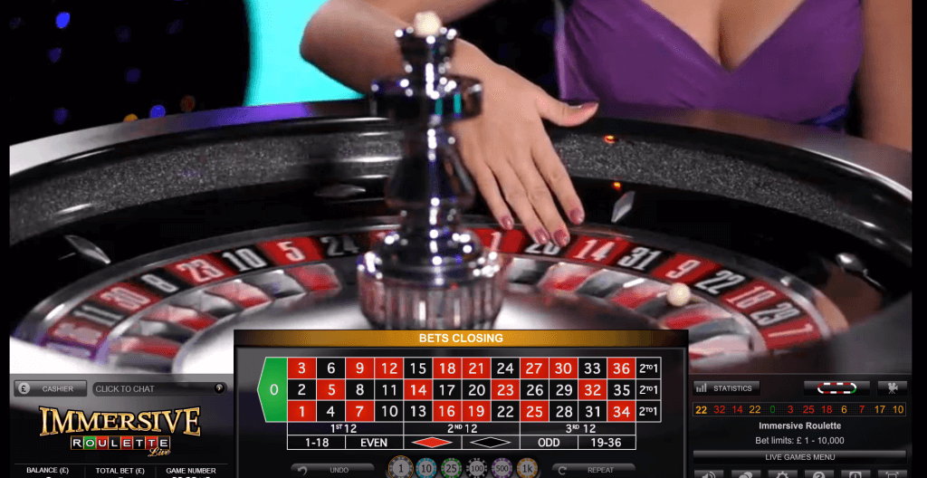 Play Live Exclusive Roulette Online at Casino.com India